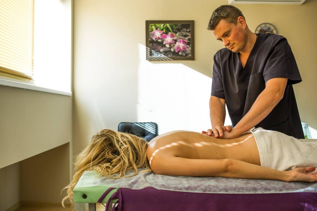 Андрей Лега массаж